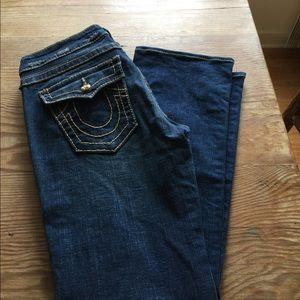 🤩SALE $20🤩True Religion Swarovski Crystal Jeans